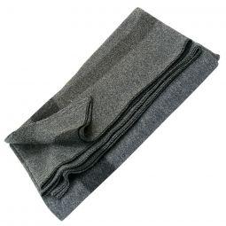 "Vintage Camp Style Blanket - Gray, 60""x80"""