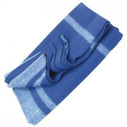 "Vintage Camp Style Blanket - Blue, 60""x80"""