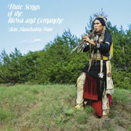 Flute Songs of the Kiowa & Comanche- Indian House CD