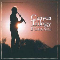 Canyon Trilogy - R. Carlos Nakai-  Canyon CD