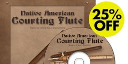 Native American Courting Flute Manual & CD Set - Jeff Ball