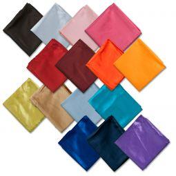 Solid Color Neck Scarves