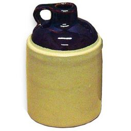 Old-Time Stoneware Shoulder Jugs - 1 Gallon