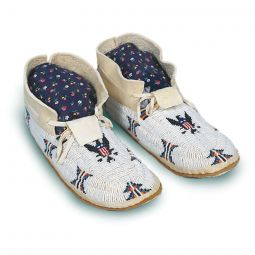 Plains Hard Sole Moccasin Kit - Adult & Child Sizes