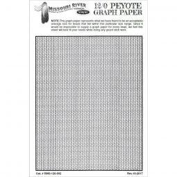 Bead Graph Paper- 12/0 Gourd (Peyote)