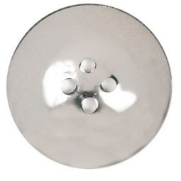 "Blanket Capote German Silver Button - 1-1/2"""