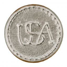 Pewter Buttons USA - 2 Hole,  1""