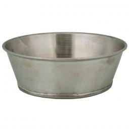 """Tin Soup Bowl - 6"""" dia. x 2-1/4"""" deep"""