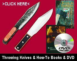 Throwing Knives - Knife Throwing Books & DVDs