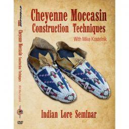 Cheyenne Moccasin Characteristics, Indian Lore Seminar DVD