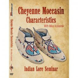 Moccasin Construction Techniques, Indian Lore Seminar Series DVD