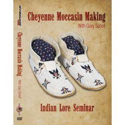Cheyenne Moccasins - The Art of Making, Indian Lore Seminar DVD