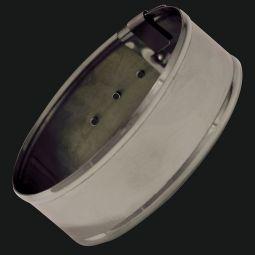 "German Silver Armbands - 1"" Plain"
