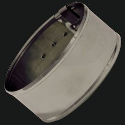 "German Silver Armbands, 1-1/2"" Plain"