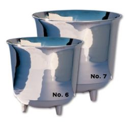 No. 6 Nickel-Plated Drum Kettle