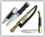 Revolutionary War Reenactment Knives & Swords
