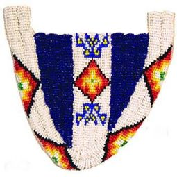 Beaded Moccasin Tops - Sioux Style