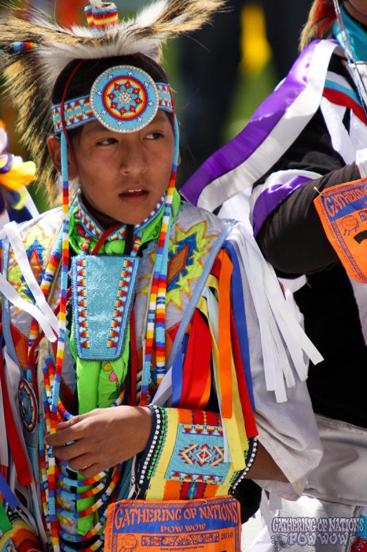 Native American Mens Grass Dancing