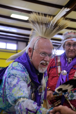 Rex Reddick - Crazy Crow Trading Post owner at 2017 Commanche War Dance
