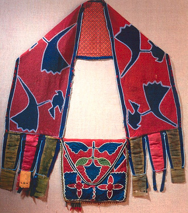Native american bandolier bag gallery american indian for Native crafts for sale