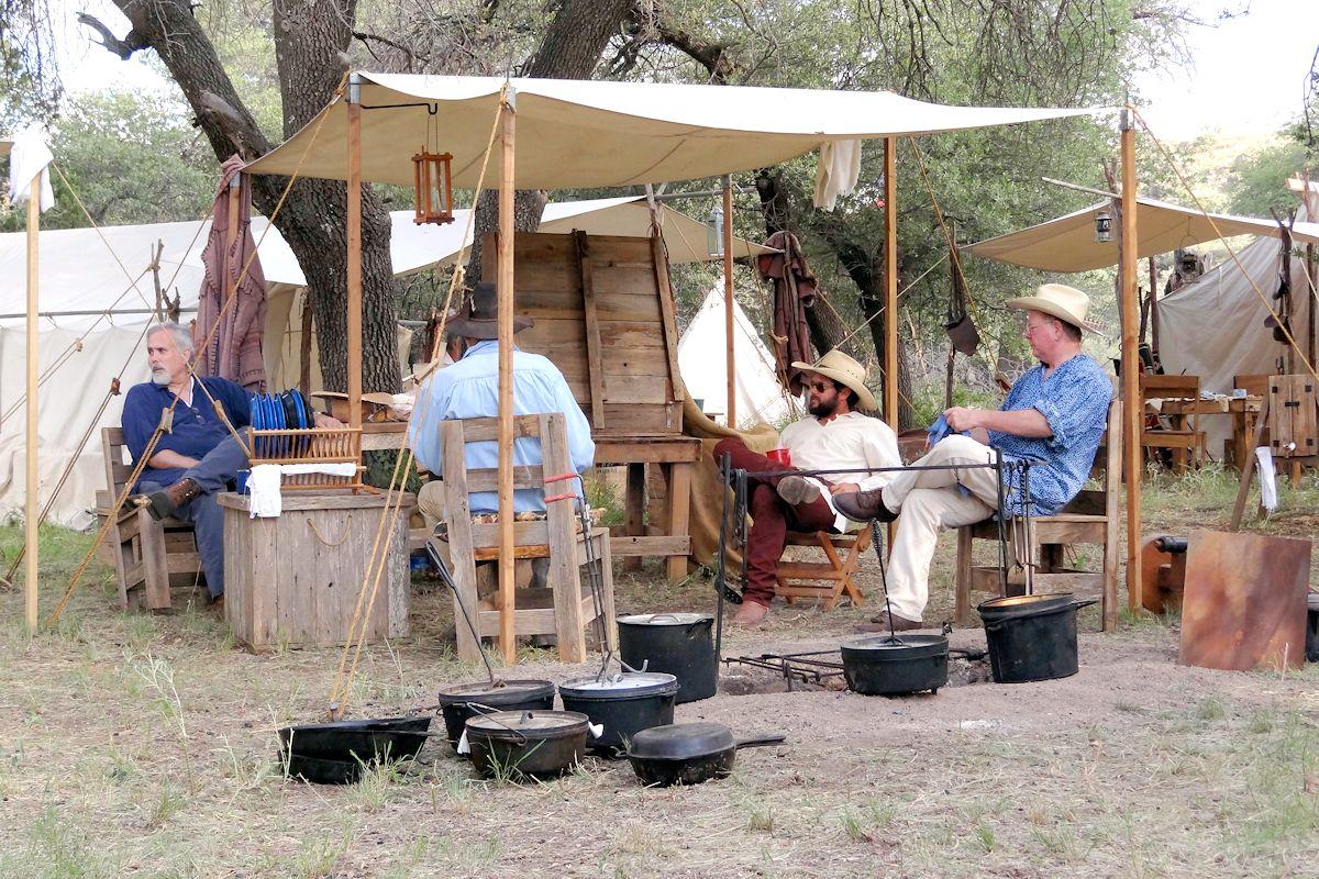 Davis Mountain Brigade Camp