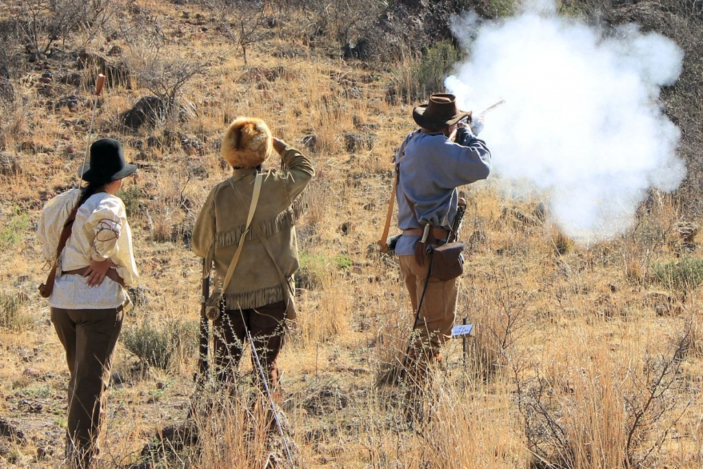 Mountain Man Rendezvous Shooters