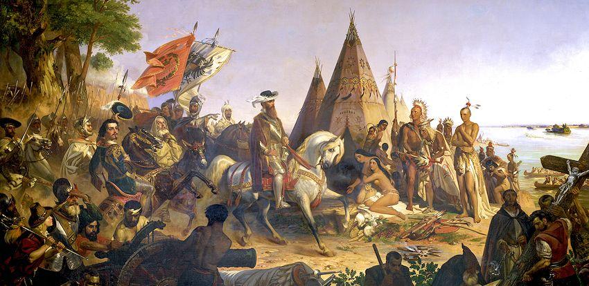 Tracking a Conquistador with Beads