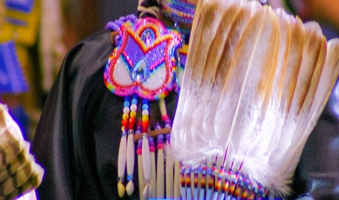 Native American Flat Feather Fan Kits, Products & Resources from Crazy Crow Trading Post
