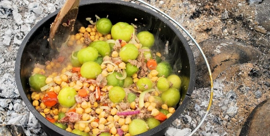 Outdoor Cooking & Recipes- Crazy Crow Trading Post Craft Resources