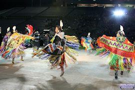 Womens Fancy Shawl Dance
