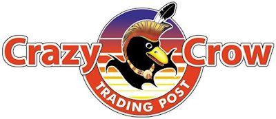 Crazy Crow Trading Post Retina Logo