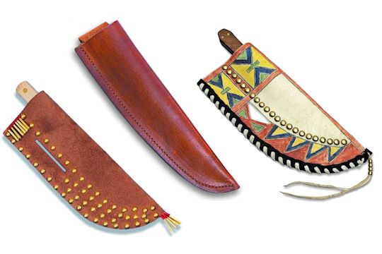 Knife Sheath Kits for Mountain Man & Early American Knives