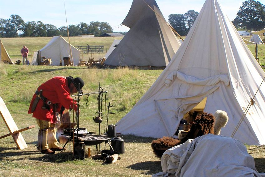 Brushy Creek Rangers Rendezvous - Near Smartsville California