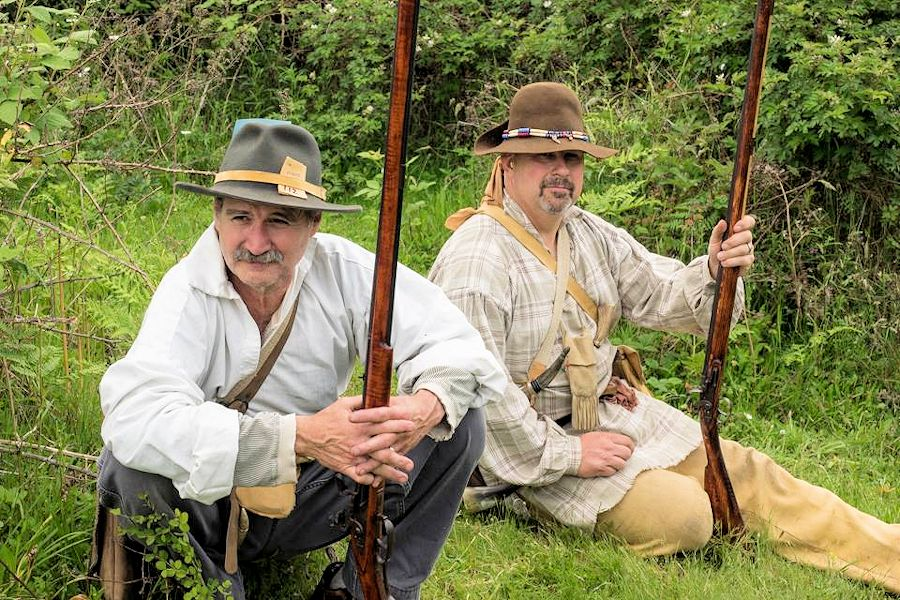 Desert Rose Memorial Day Rendezvous - Desert Rose Ranch in Lebanon, Oregon - Forest Hills Black Powder Brigade