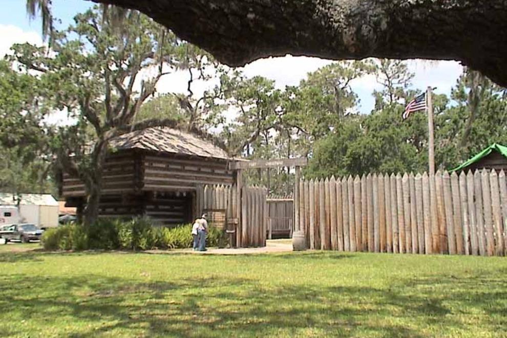 Fort Christmas Historical Park Living History