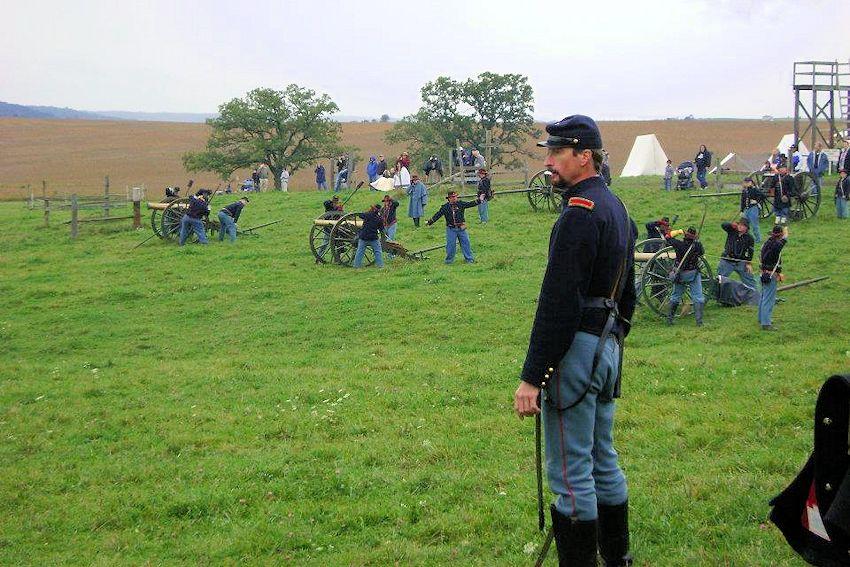 Battle of Morseville Civil War Reenactment - David Pierce Family - Old Pierce Farm