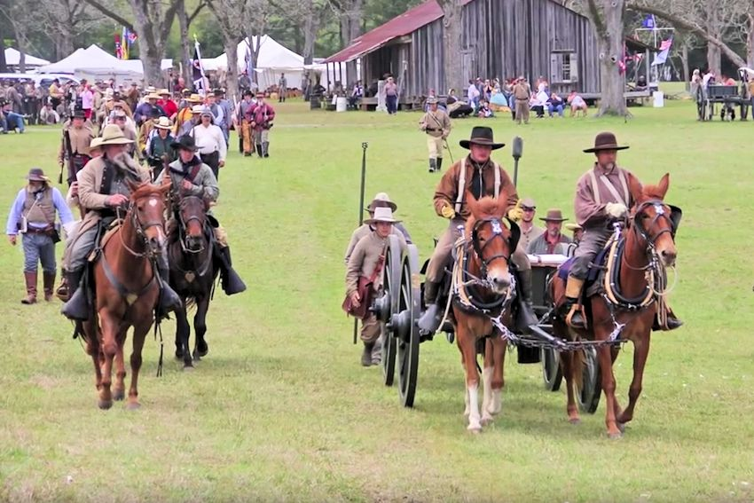 Battle of Pleasant Hill Reenactment - Battle of Pleasant Hill Camp and Battleground - The Battle of Pleasant Hill Committee