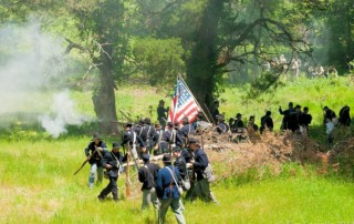 Old Clinton War Days - Battles of Sunshine Church Reenactment - Old Clinton Historic District