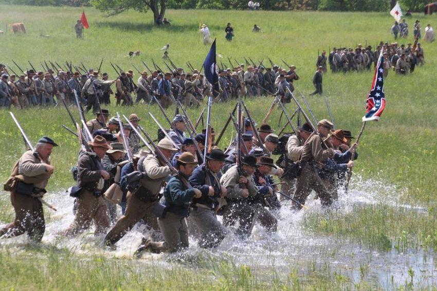 Vmi Calendar May : Battle of new market reenactment civil war