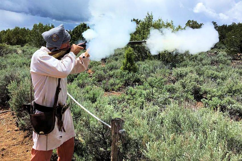 Anasazi Free Trappers Rendezvous in Utah