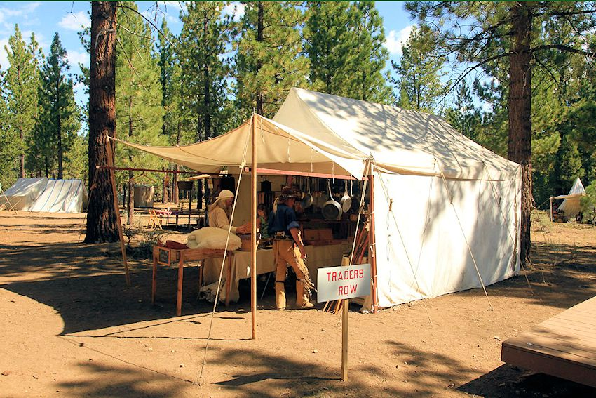 Big Horn Mountain Men Rendezvous - Holcomb Valley Scout Ranch, California