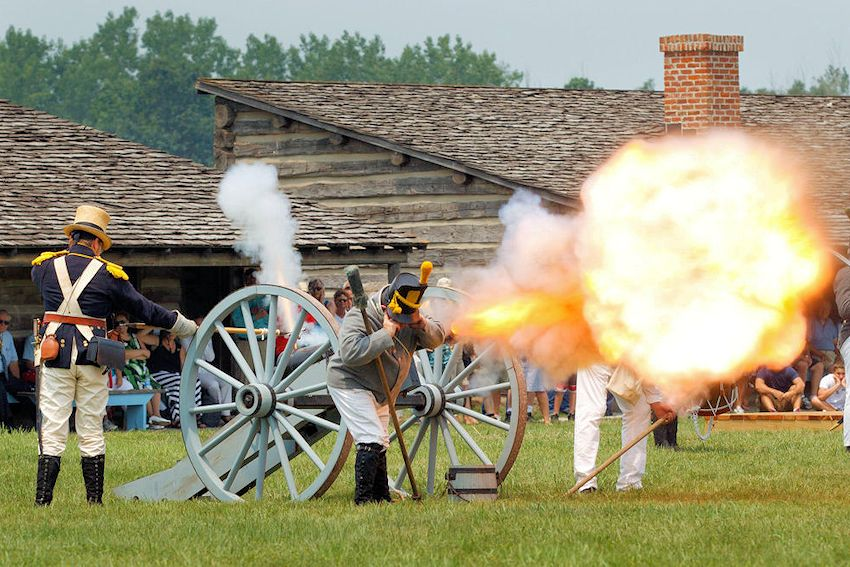 Fort Atkinson Living History Weekend in July