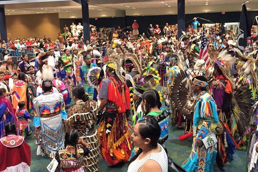 Gathering at the Falls Powwow in Washington