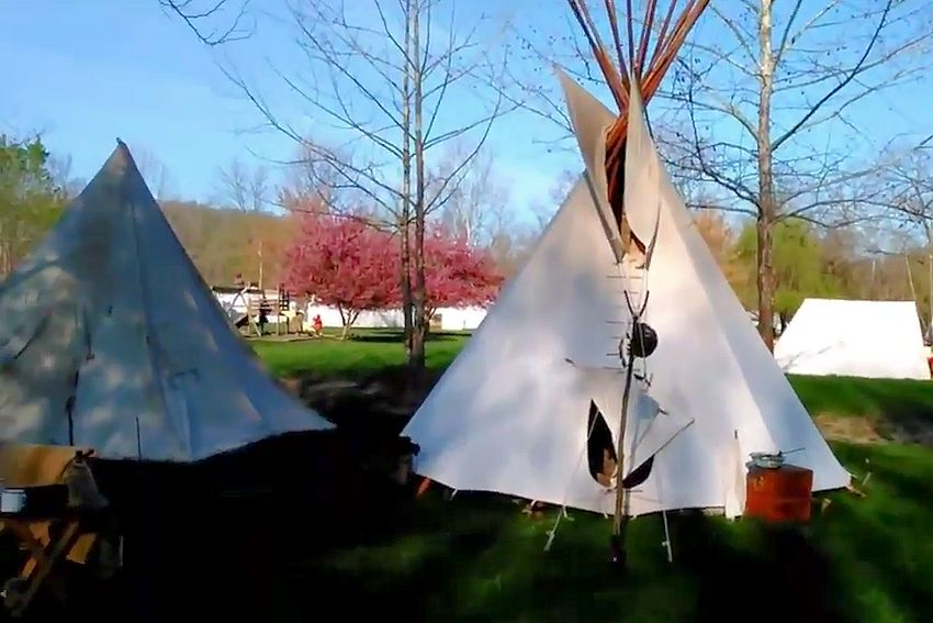 Little Niangua Mountain Man Spring Rendezvous & Festival - Little Niangua Campground