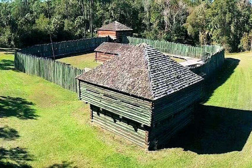 Fort Fort Foster Rendezvous - Fort Foster State Historic Site - Florida Frontier Living History - School Days at Fort FosterState Historic Site - Florida Frontier Living History