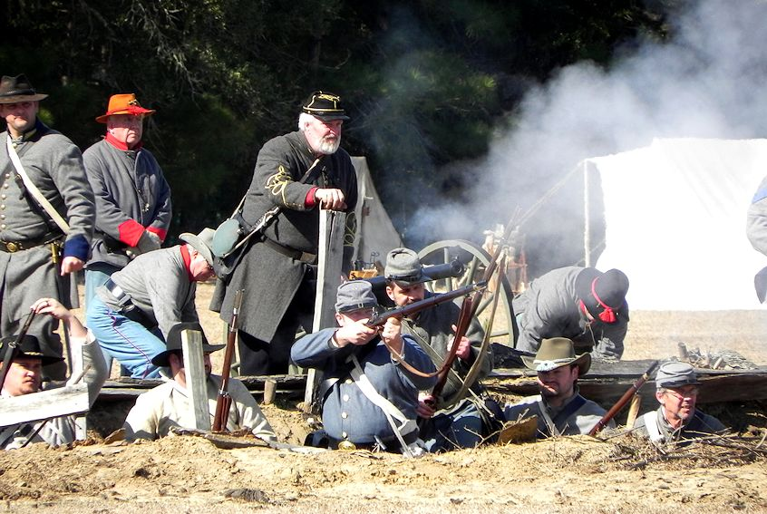 Battle of Charleston Civil War Reenactment at Legare Farms - Presented by Legare Farms and the 7th SC Infantry