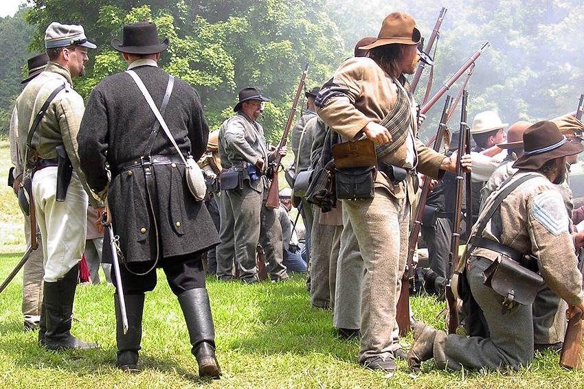 Battle of Dry Creek Reenactment - White Sulphur Springs, West Virginia