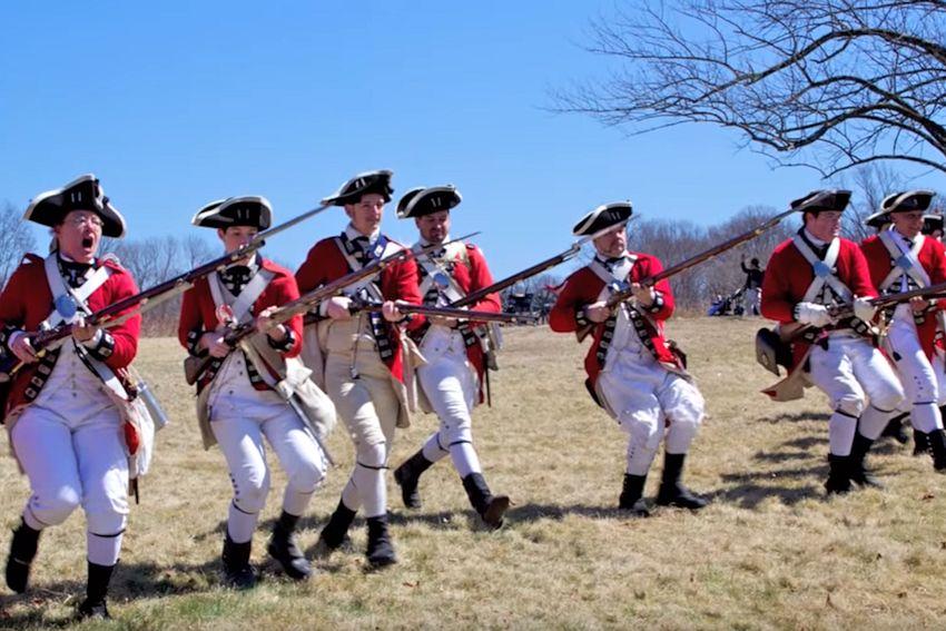 Battle of Princeton Reenactment - Princeton Battlefield State Park - Revolutionary War Reenactment