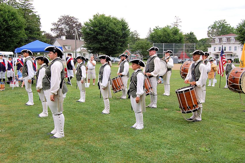 Colchester Muster & Colchester Festival on the Green - Colchester Continental Fife and Drum Corps - Colchester Muster