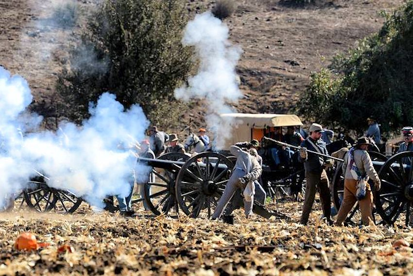 Duncans Mills Civil War Days Reenactment - Casini Ranch - California Historical Artillery Society